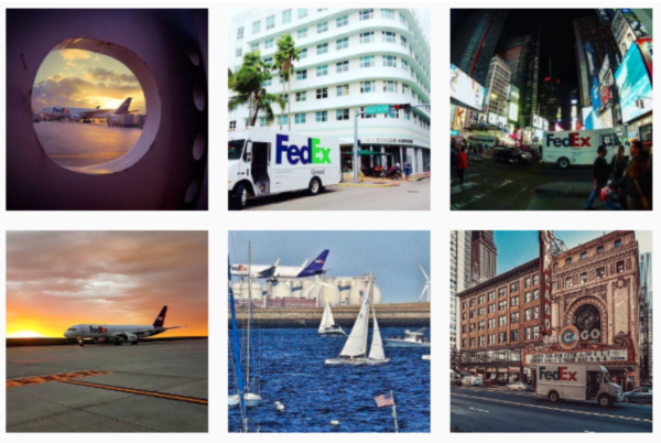 FedEx tapped into user-generated content with their FedEx in the Wild campaign