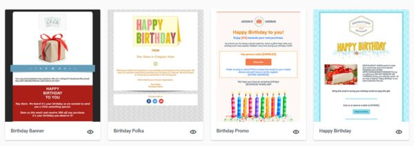 best happy birthday email templates