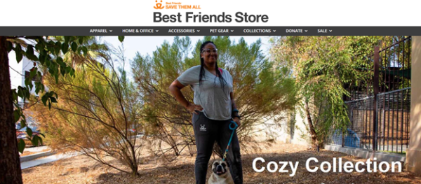 Best Friends Store focuses on products for pets and their human parents