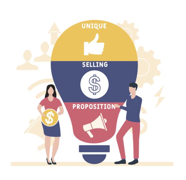 USP parts - Unique, Selling, Proposition