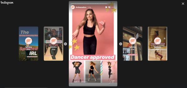 Maddie Ziegler provides expert social proof for Fabletics