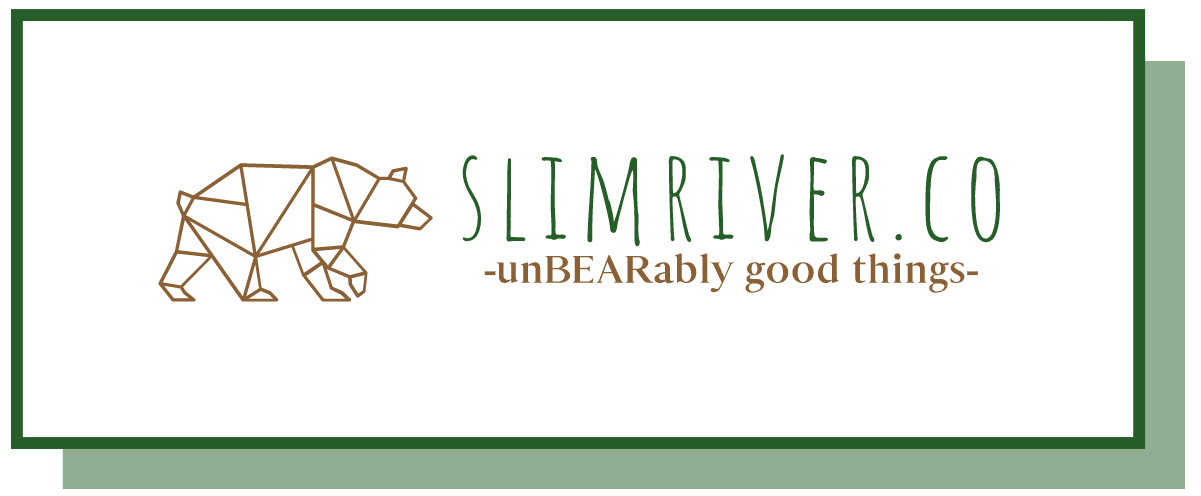 slimriver.co - an example of a logo made with Constant Contact's logo maker