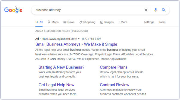 attorney marketing should include PPC advertising