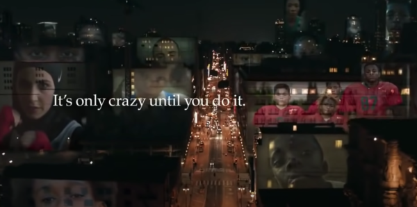 """Nike mastered using persuasive techniques in advertising. This Nike ad, """"It's only crazy until you do it"""" taps into human emotions"""