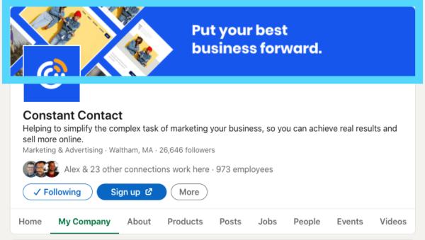 LinkedIn company banner photo size