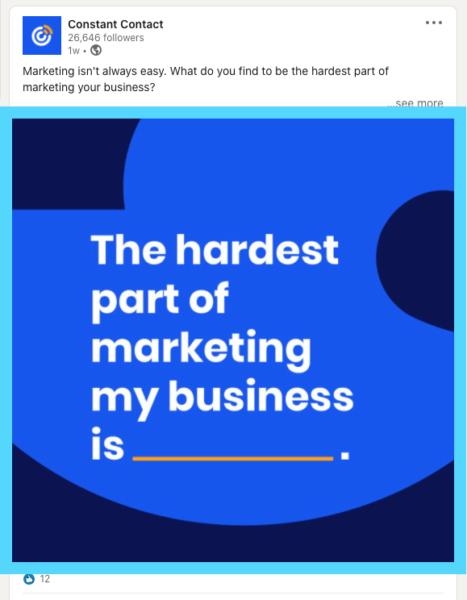 LinkedIn post image size