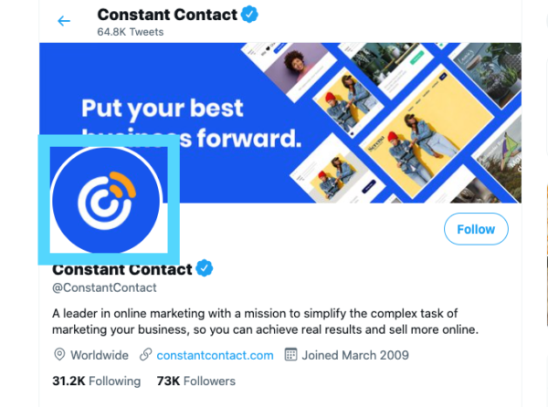 Twitter profile picture size