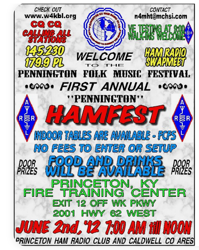 busy flyer with several font styles,  and an over abundance of text