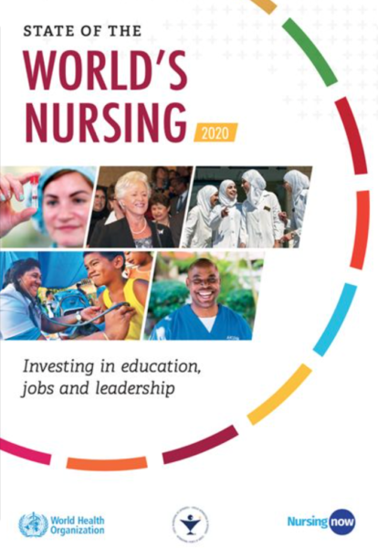 """WHO's """"State of the Worlds Nursing 2020"""""""