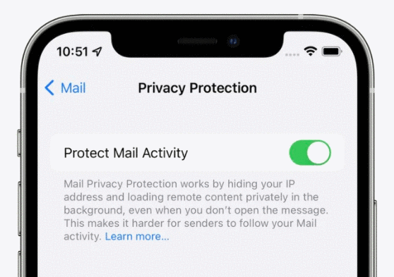 Apple Mail privacy protection for iOS 15