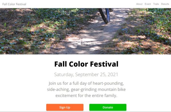 Fall Color Festival home page