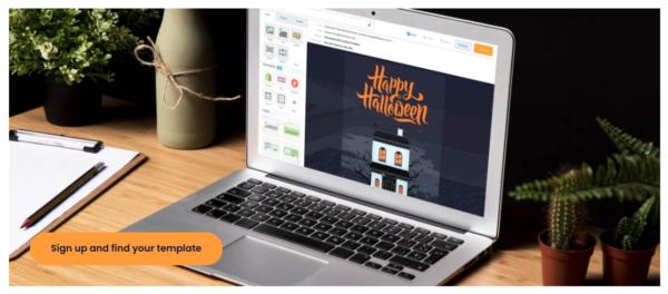 Real estate Halloween marketing