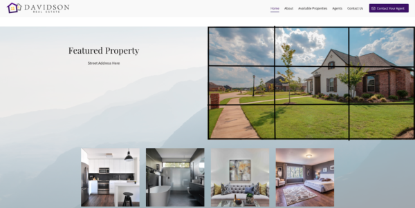 example of website design principle - rule of thirds