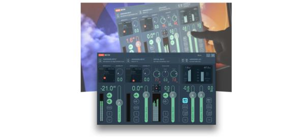 VoiceMeeter's digital soundboard